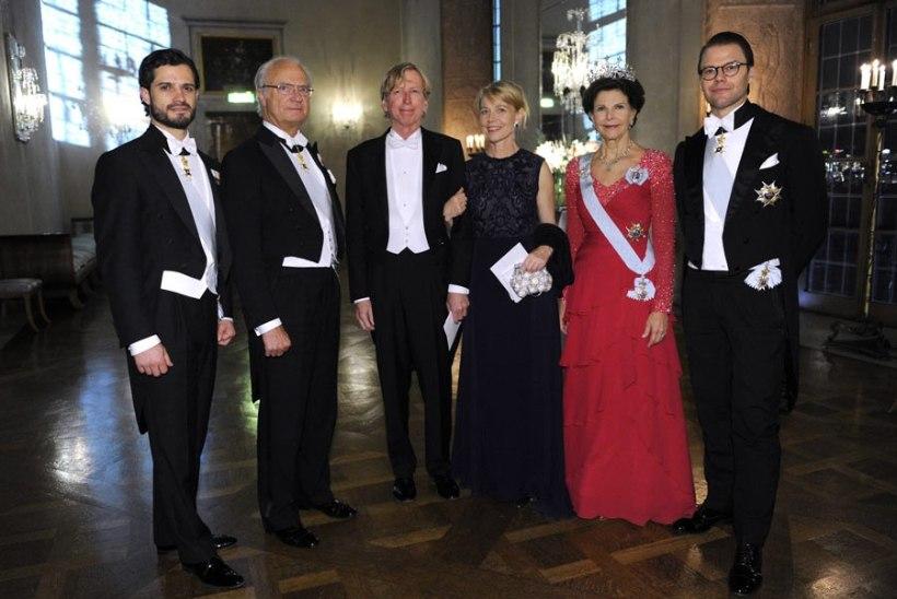Rootsi kuningapere osaleb Nobeli preemiate jagamisel täies koosseisus