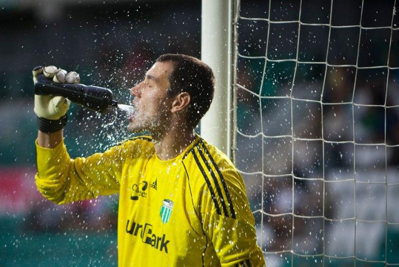FC Levadia väravavaht püstitas pühapäeval uue Meistriliiga rekordi
