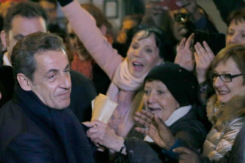 Sarkozy on jälle poliitika edurivis