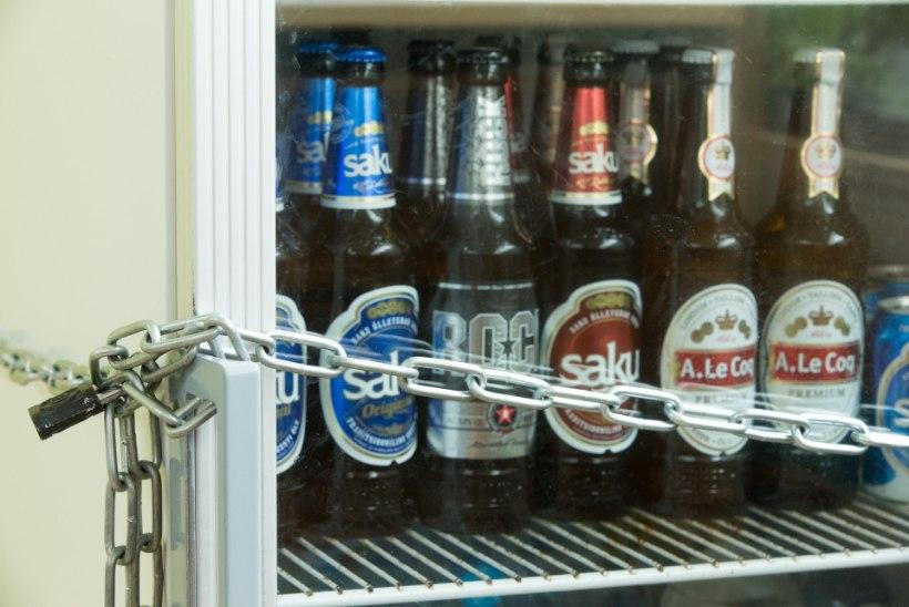 Tallinn kavatseb märtsist keelata pühapäevase alkoholimüügi