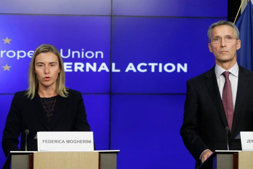 NATO peasekretär: Vene väed liiguvad Ukraina piiri poole