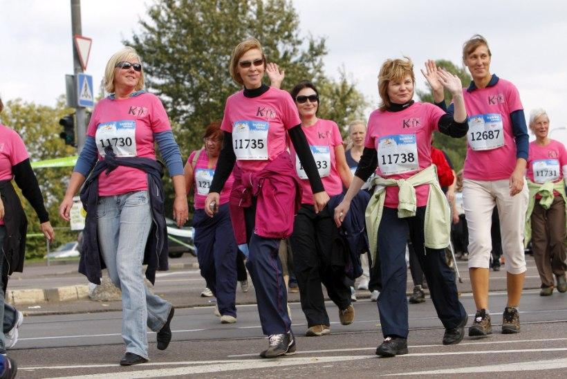 Vähemalt 10 000 sammu päevas hoiab keha ja vaimu virgena