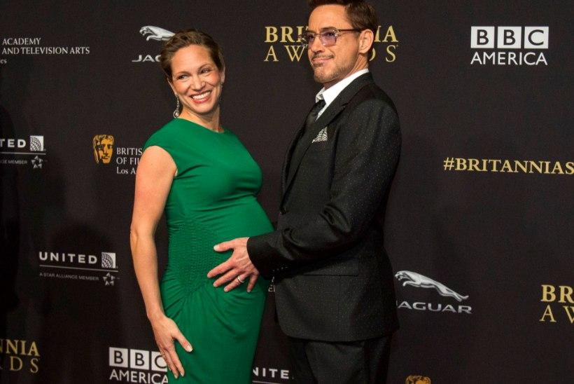 Robert Downey jr avaldas teisipäeval sündinud pisitütre nime!