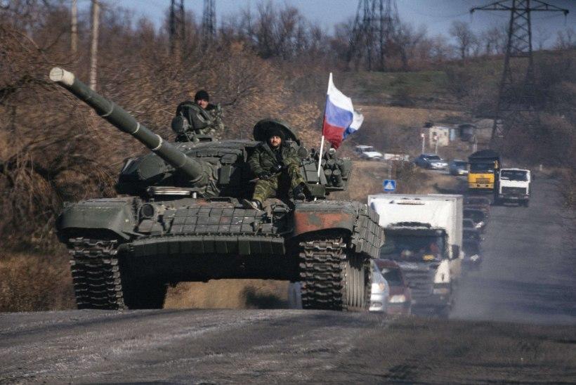 Kiiev: Ukraina piiri ületas Vene sõidukikolonn 32 tankiga