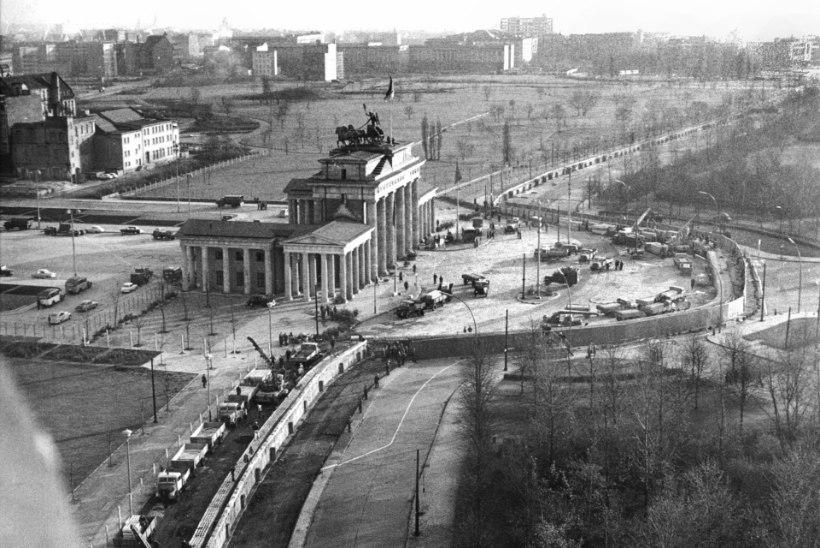 GALERII: enne ühtsust tuli vabadus, 25 aasta eest kukkus Berliini müür