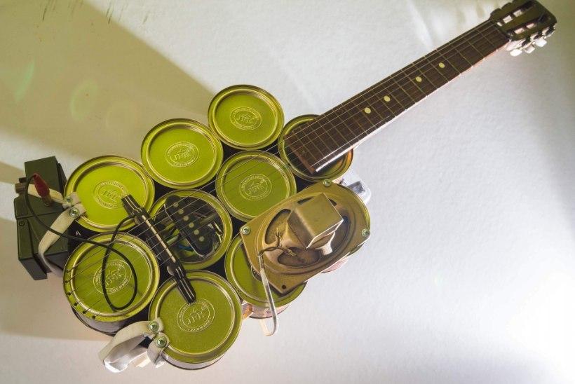 """Kohvipurkidest kitarri ehitanud mees: """"Mind võlub uute lahenduste otsimine!"""""""