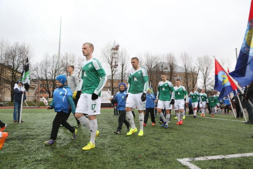 Eesti jalgpallimeistriks tuli viimases mängus Transi purustanud Levadia
