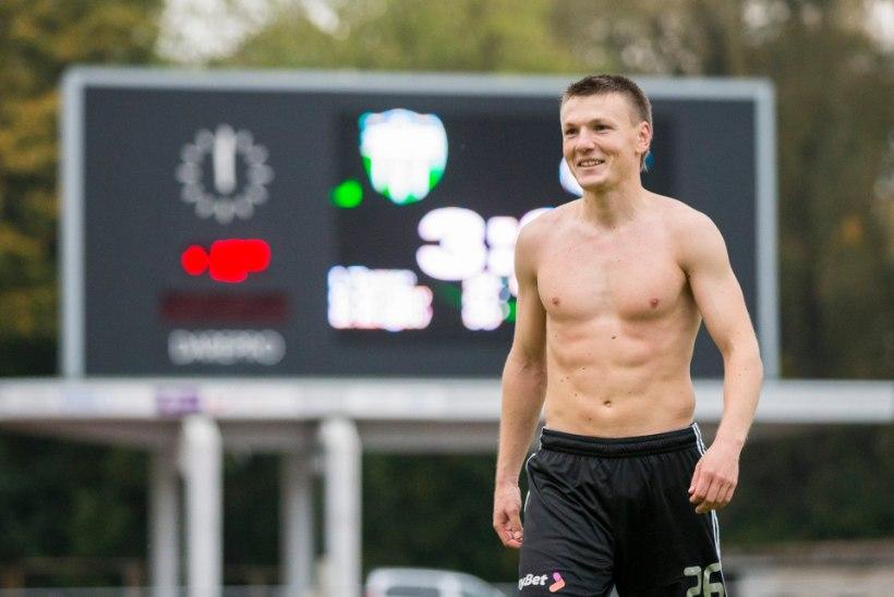 ÕHTULEHE VIDEO | Eesti jalgpallimeister Dmitri Kruglov: Alles täna uskusin, et tuleme meistriks