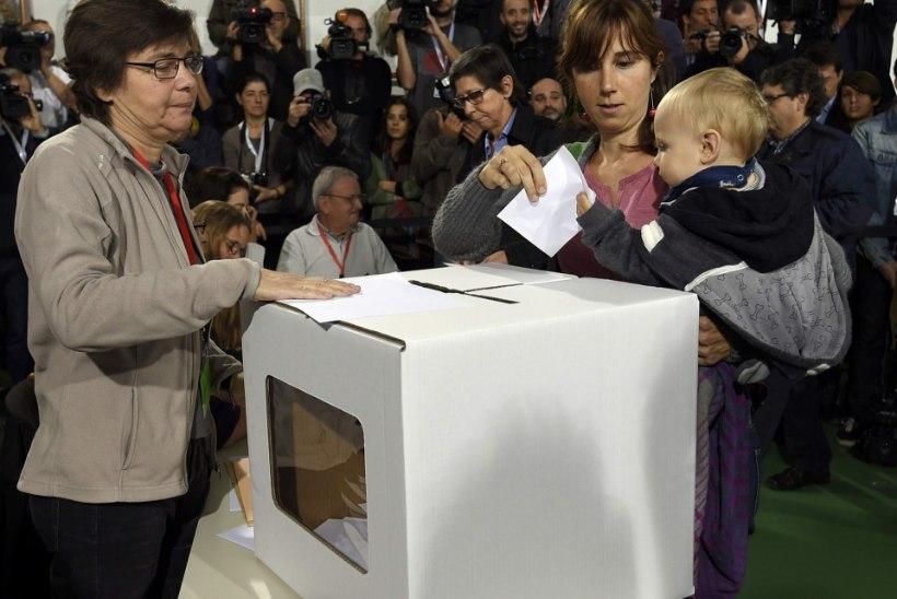 Katalaanid tulid rahvahääletusele