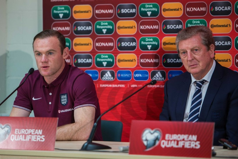 Roy Hodgson: Rooney võib koormuse all murduda