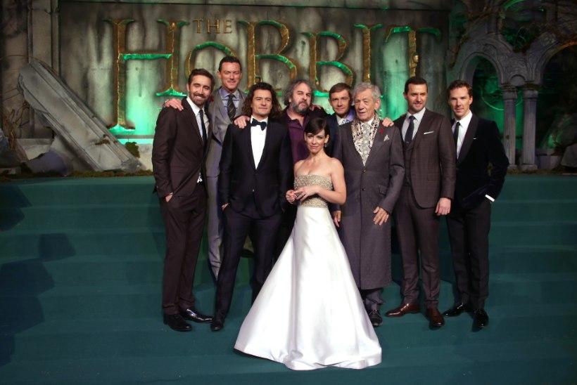 """GALERII: kuulsad näitlejad filmi """"Kääbik: Viie väe lahing"""" Londonis toimunud esilinastusel"""