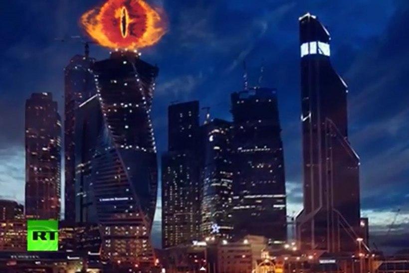 """Installatsioon """"Sauroni silm"""" jääb Moskvas ära - kirik peab deemonlikuks"""