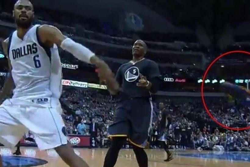 VIDEO: NBA staar lõikas vahelt... Korvpalliketsi!