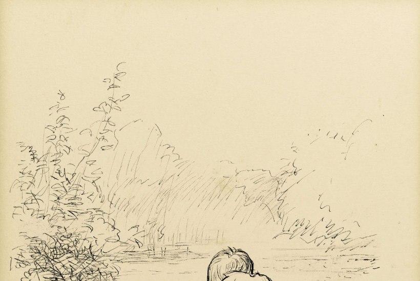 Karupoeg Puhhi illustratsioon müüdi hiigelsumma eest