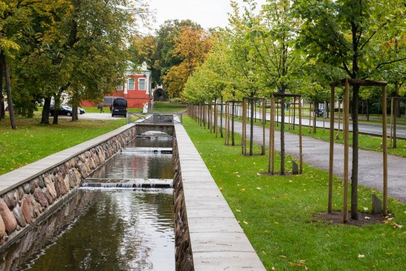 USA saatkonna ambitsioonikas kolimissoov rüüstaks Kadrioru pargi