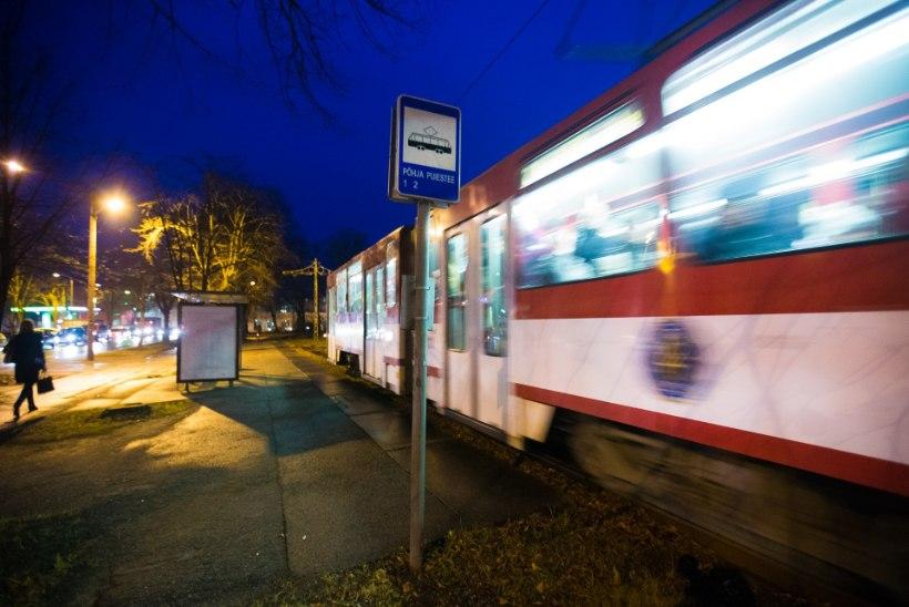 Hispaania tramm jõudis Paldiskisse