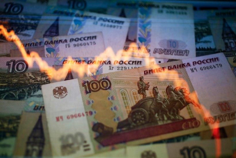 Tõsine paanika Venemaal: rubla kurss on vabalanguses