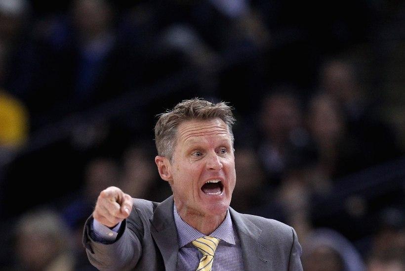 Golden State'i juhendaja Kerr: me ei võida 72 mängu, sest meil pole Jordanit