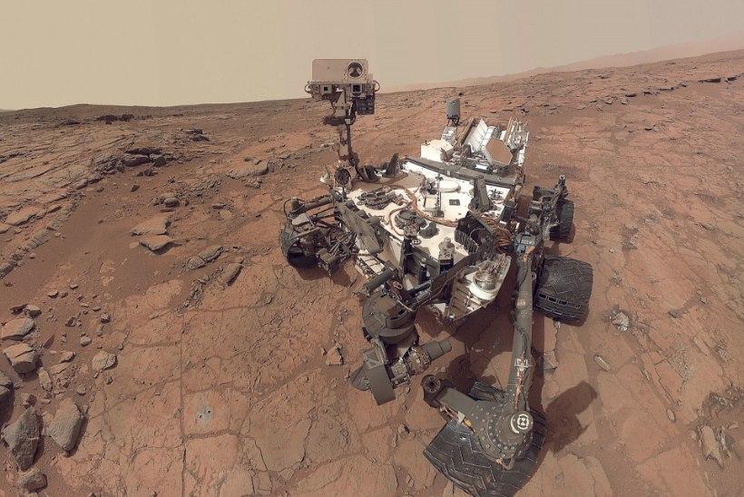 USA kosmoseagentuur NASA: Marsil võib tõepoolest olla elu