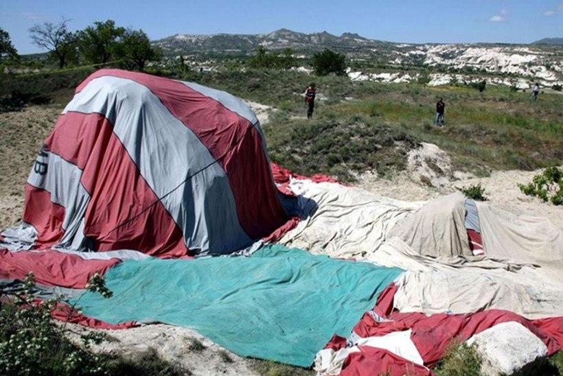 Türgis kukkus alla õhupall tappes turisti