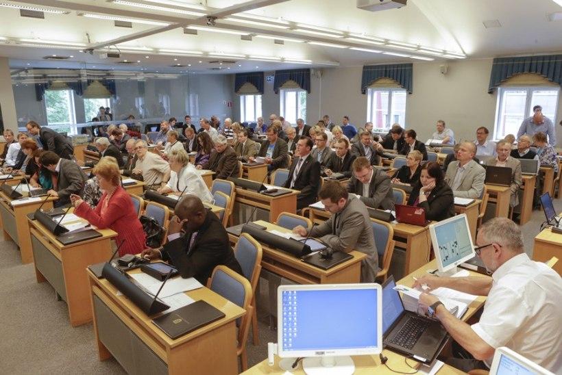 Tallinna volikogu võttis vastu linna eelarve ja lõpetas tänavuse töö