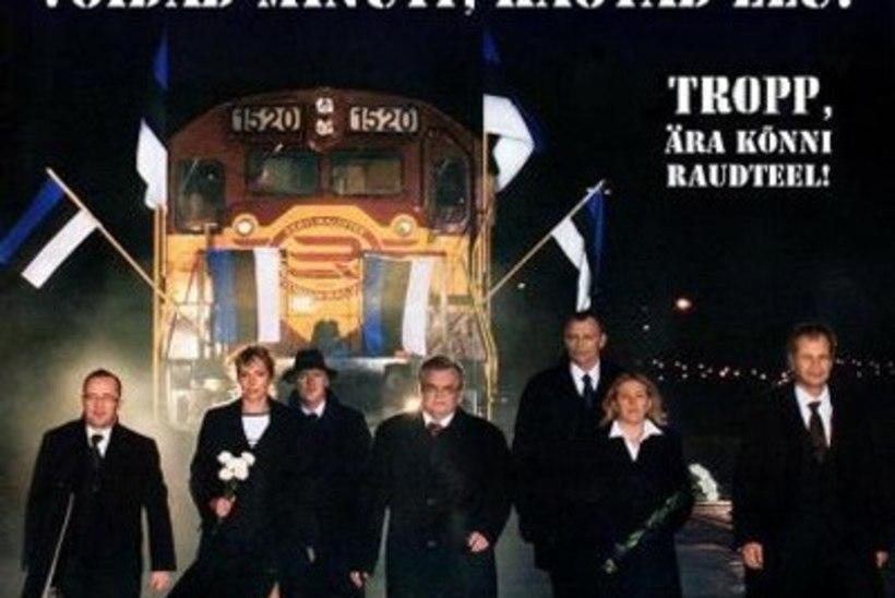 Olga Sõtnik leidis uue trammi esitluse fotolt pahaendelise seose