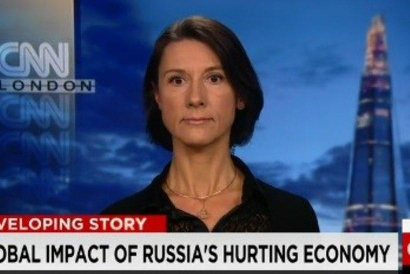 Kadri Liik CNN-ile: praegune majanduslik seis Venemaal kahjustab Putini positsiooni