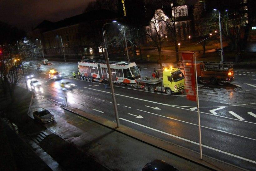 TV3 VIDEO: Tallinna uus tramm sai nimeks Moonika
