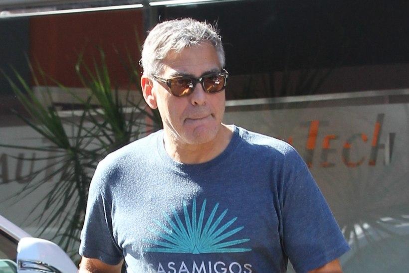 Bale ei talu, kuidas Clooney fotograafide pärast halab