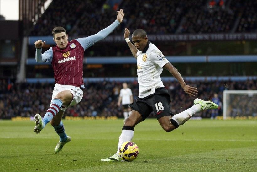 FOTOD: Manchester United ei suutnud vähemusse jäänud Aston Villa vastu viigist enamat