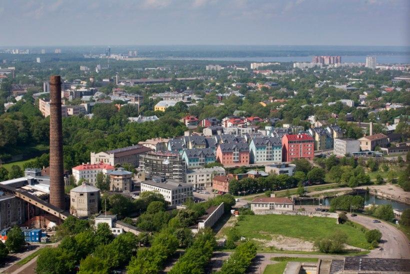 UURING: Tallinn muutub piirkonniti üha enam jõukamate või vaesemate elanike piirkondadeks