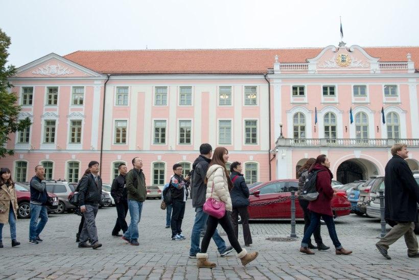 Aasia turistide arv Eestis on hüppeliselt kasvanud