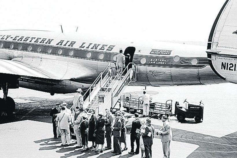 Õhusõit 1950ndatel: inimesed panid selga oma parimad riided ja sõid kahe suupoolega homaari