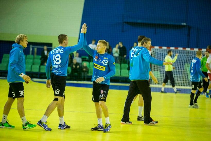 Eesti meeste käsipallikoondis sai Riia turniiril teise koha