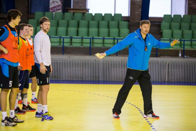 Käsipallikoondise peatreener: saime hakkama paremini, kui arvasin