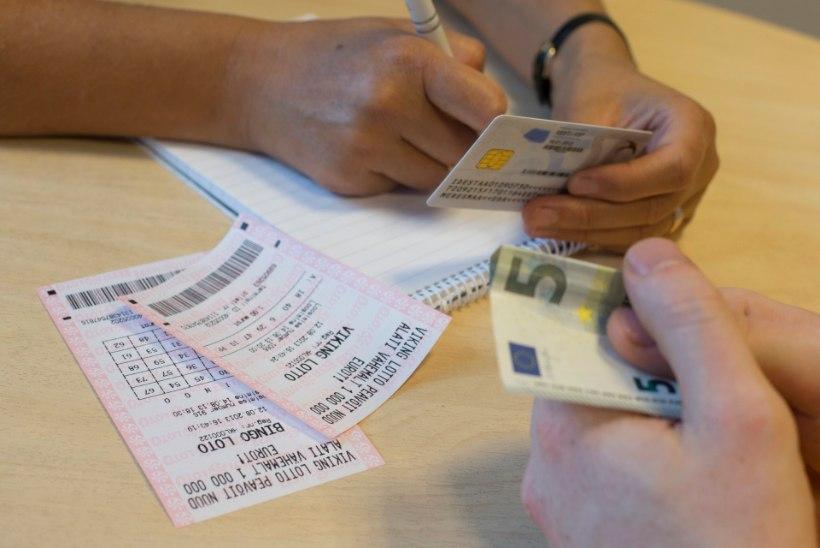 Eurojackpotiga 174 676 eurot võitnud mängijaks osutus Narvas elav mees