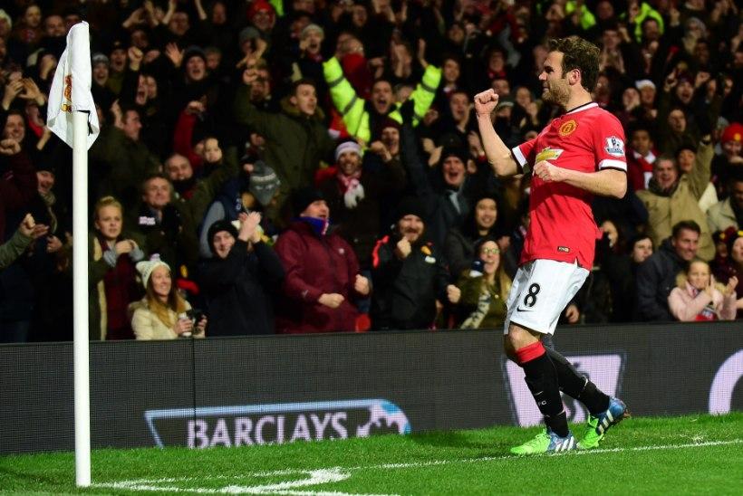 Manchester United tõuseb fööniksina nagu Conchita Wurst: neljas järjestikune võit tuli Stoke City üle