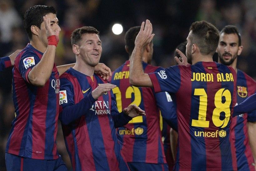 Barcelona kaotas kohtus ning sai ostukeelu
