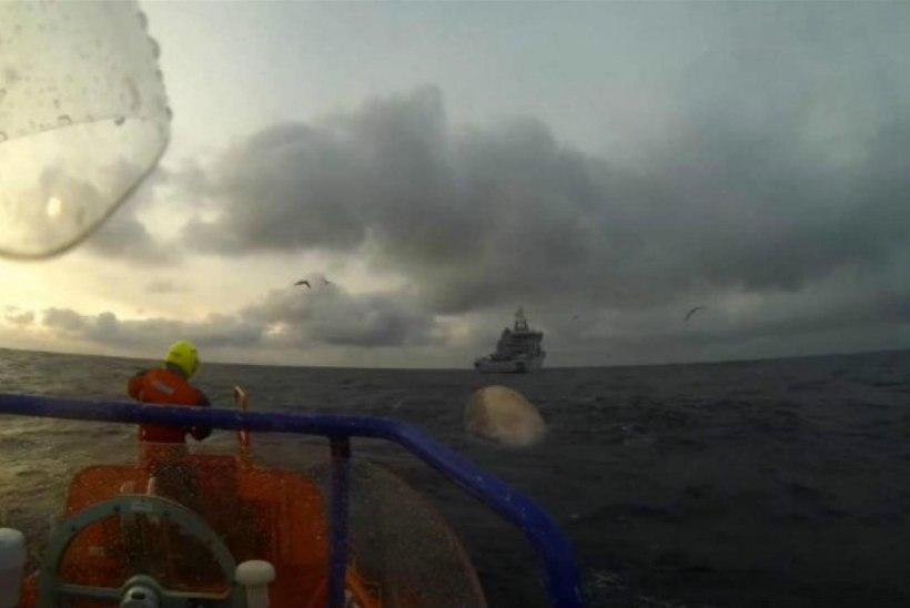 Norras tulistati plahvatusohtlik vaal raskekuulipildujaga sõelapõhjaks