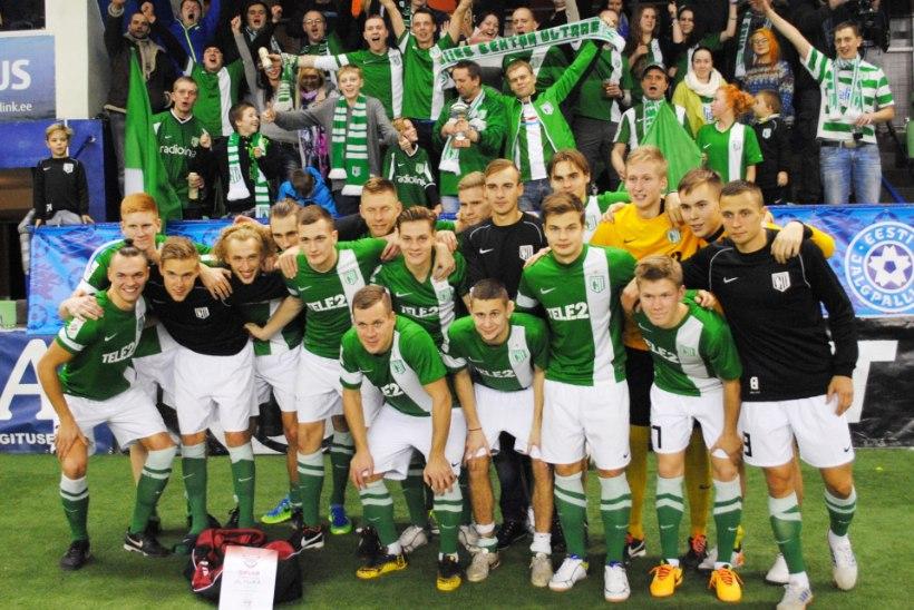 Aastalõputurniiri võitis Tallinna FC Flora