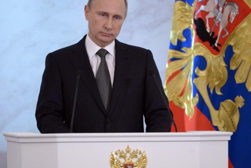 """Vladimir Putini aastakõnet """"tervitati"""" rünnakuga Groznõis"""