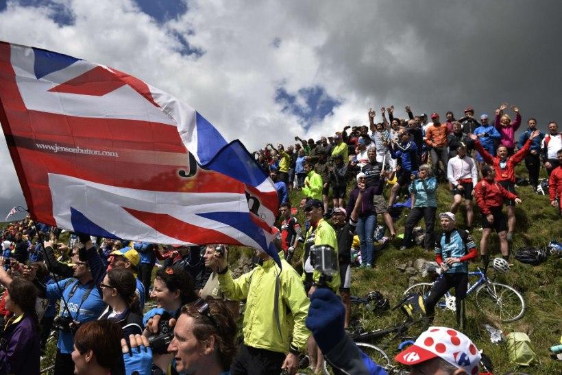 Touri stardi võõrustamine tõi brittidele sisse meeletu summa