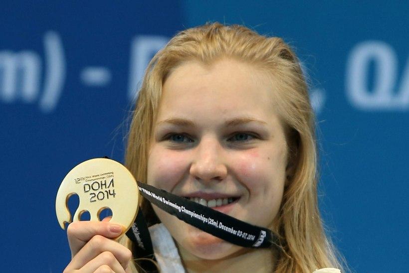 Liivamägi: Meilutyte ujub varsti maailmarekordi