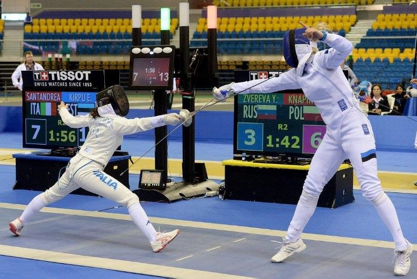 KAHJU! Erika Kirpu pidi Doha MK-etapi finaalis leppima kaotusega