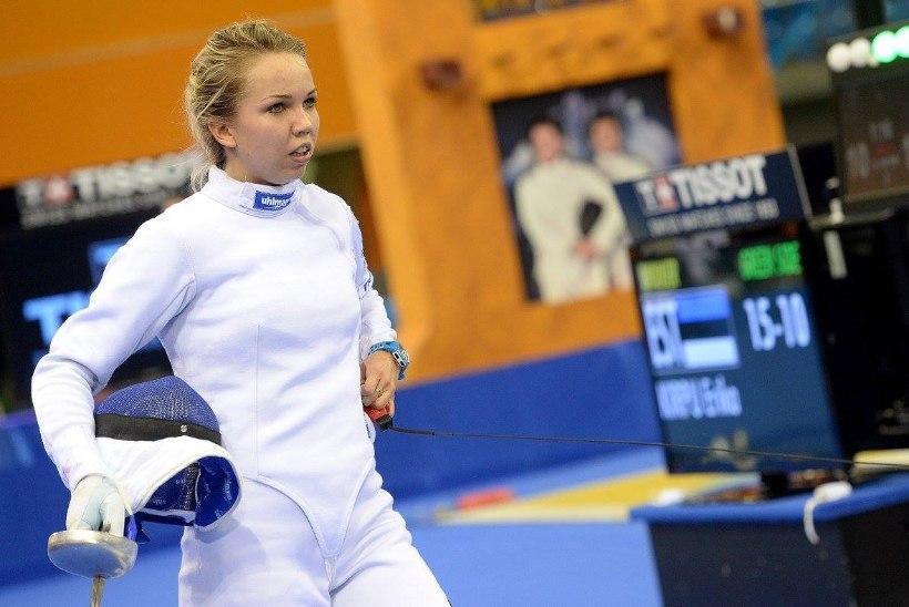 Doha MK-etapil teise koha saanud Erika Kirpu: supertunne on!