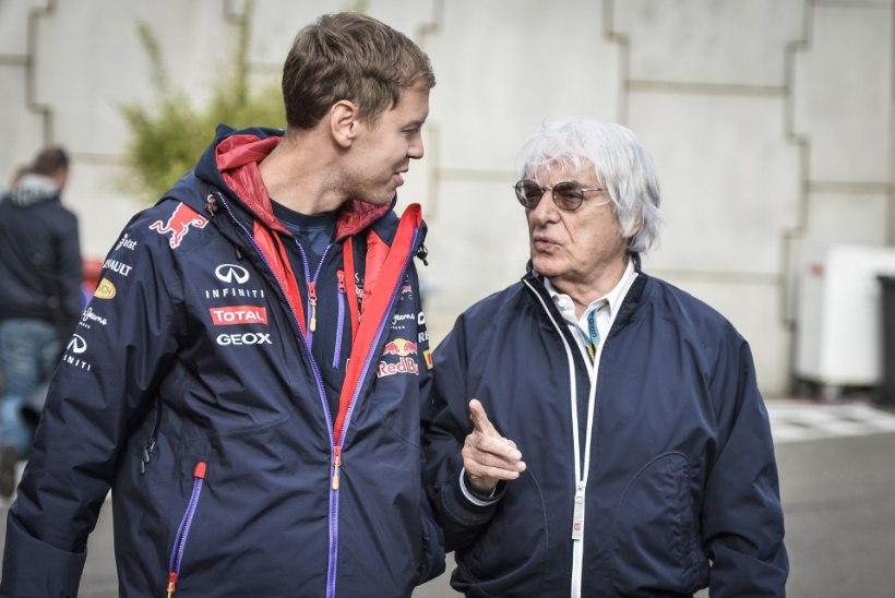Vormel-1 boss sakutas Sebastian Vettelit