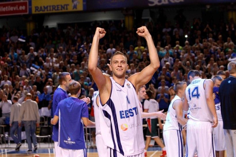 Eesti korvpalli õnnejumal leidis tee Pariisi!