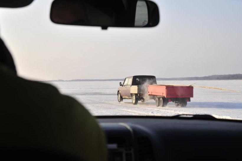 Lämmi- ja Pihkva järvele minge või traktoriga