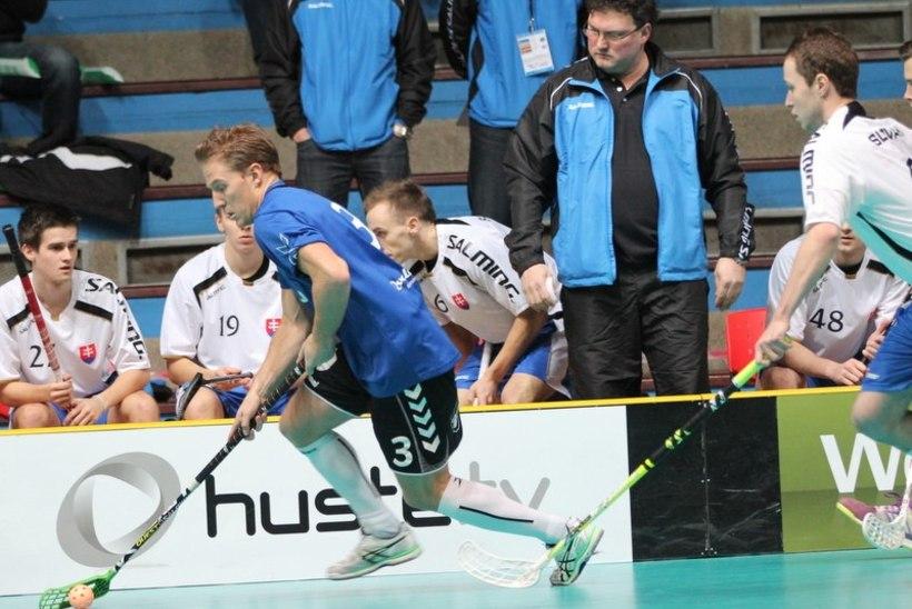 VÕIMAS! Eesti saalihokikoondis purustas Slovakkia ja pääses MMile!
