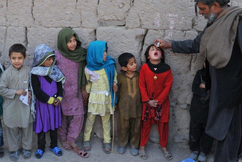 Kabulis leiti lastehalvatuses pisitüdruk, arstid kardavad haiguspuhangut